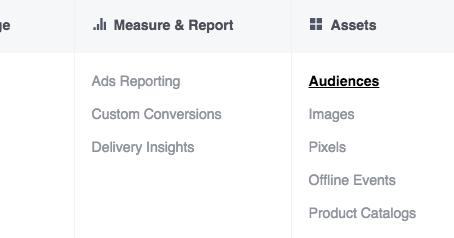 Facebook Page Engagement Custom Audiences