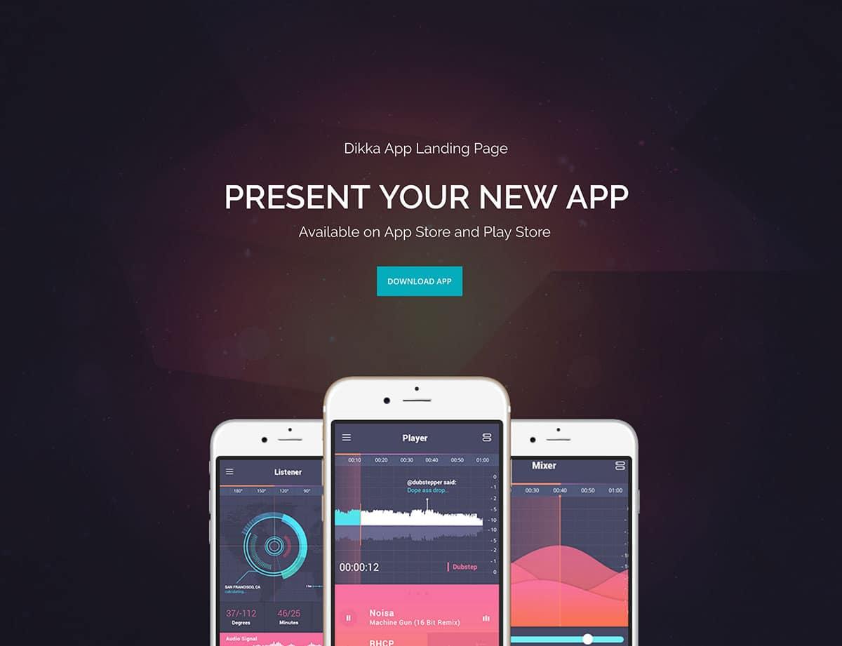 dikka-приложение-десантно-страница тема