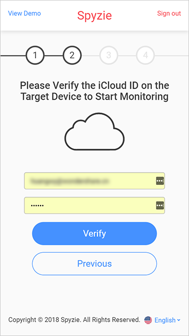 Track WhatsApp Messages with iCloud ID