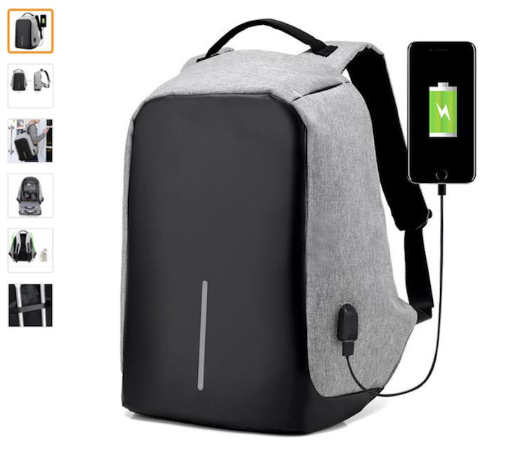Зарядные рюкзаки