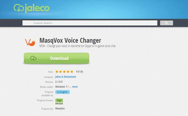 MasqVox Voice Changer