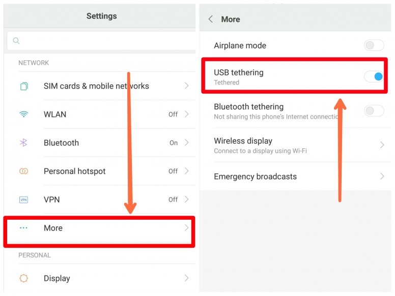 Tips To Use Your Phone As A Modem aka Tethering