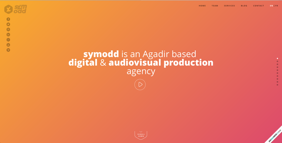 Изображение заголовка главной страницы symodd