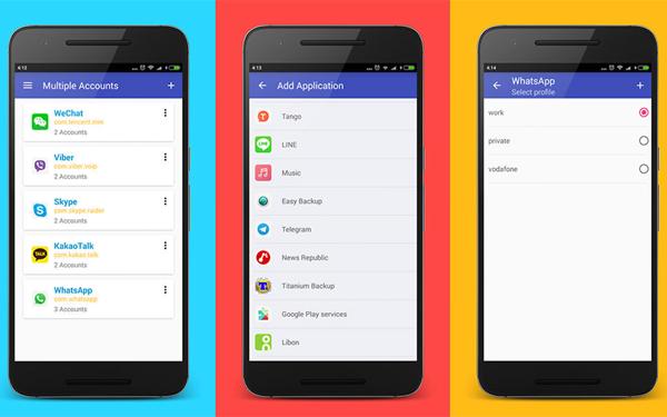 Использование Android-телефона, который позволяет настроить гостевых пользователей