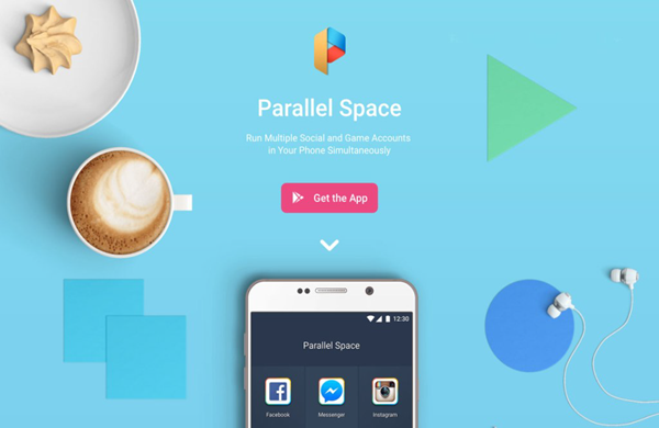 Использование параллельного пространства
