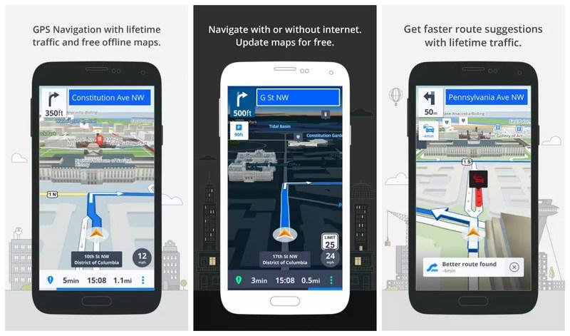 Приложения для GPS-навигации