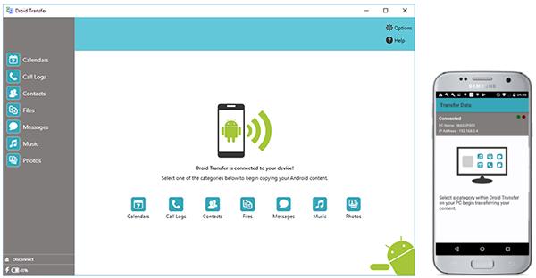 Подключить Android и ПК