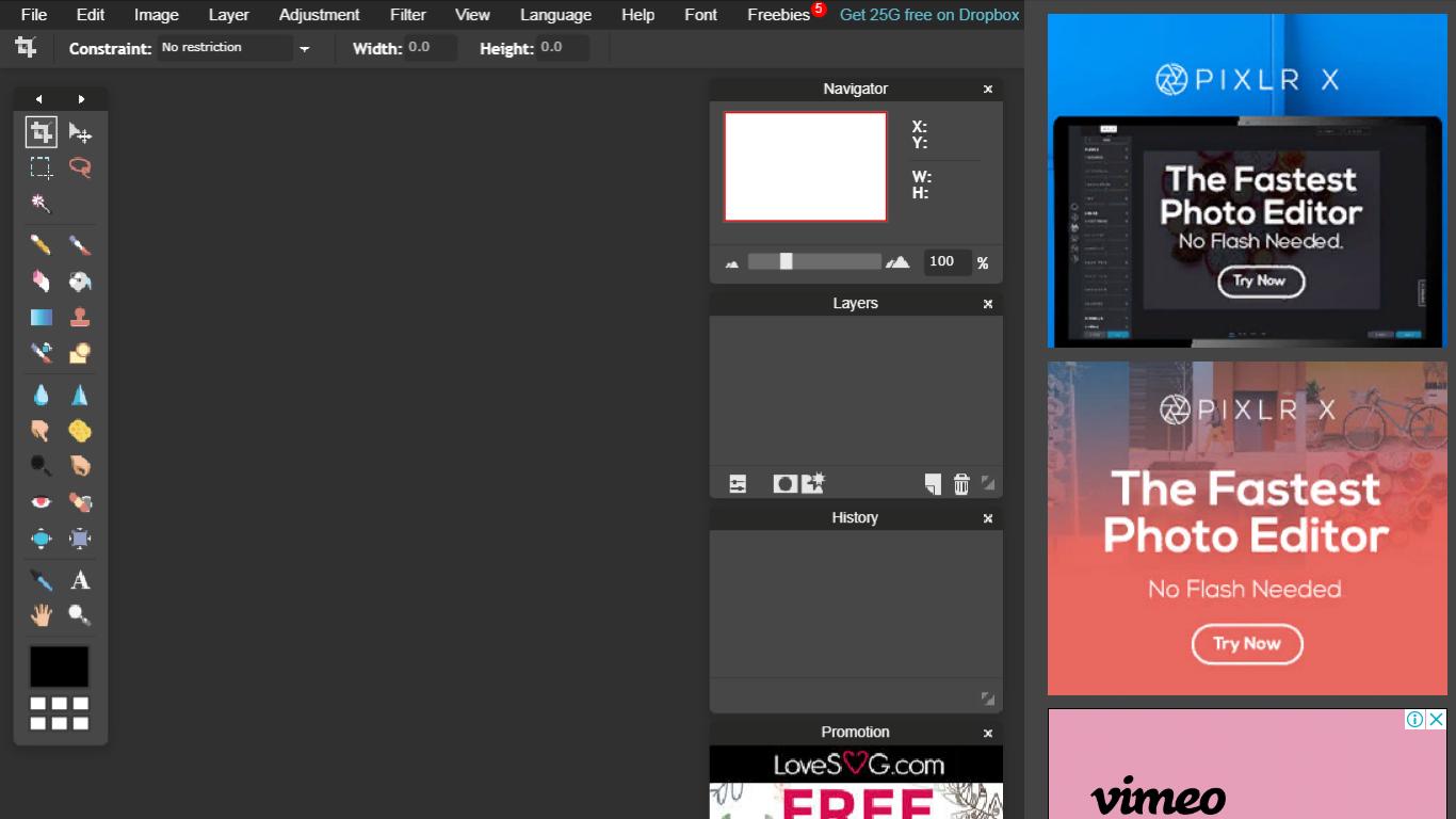Создание прозрачного фона для картинки онлайн