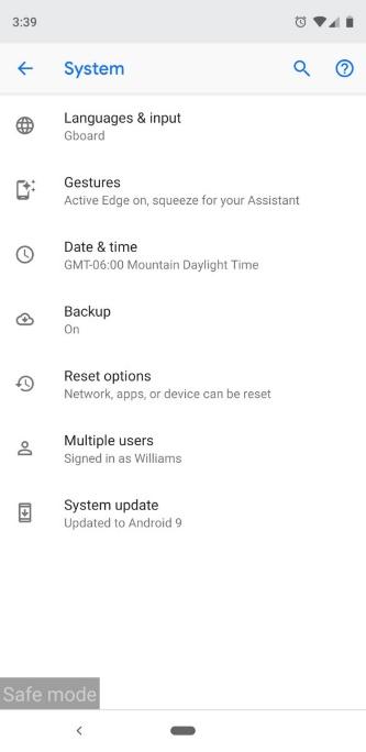 Как сбросить заводские настройки Android устройства 1