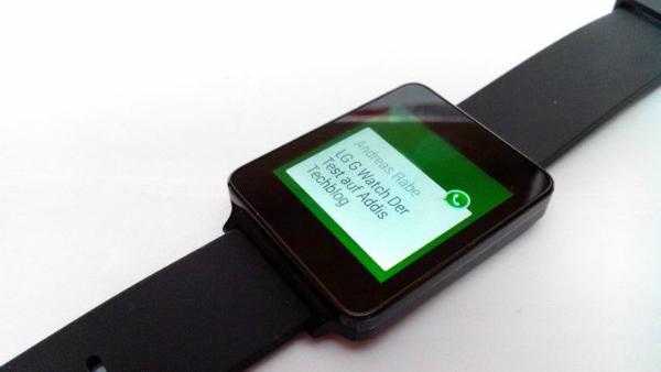 особенности WhatsApp smartwatch