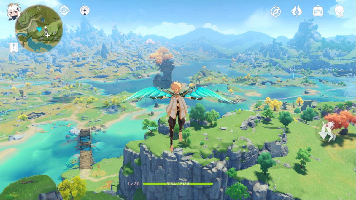 Genshin Impact лучшие игры открытого мира для Android